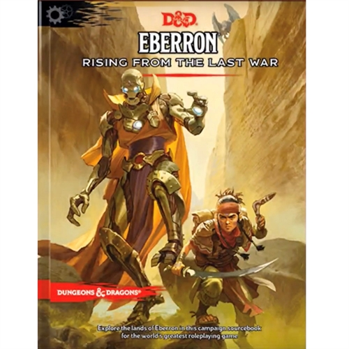 Dungeons & Dragons 5th - Eberron - Rising from the Last War
