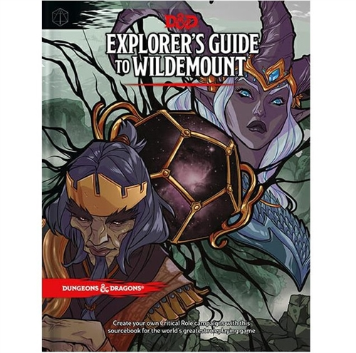 Dungeons & Dragons 5th - Explorer's Guide to Wildemount