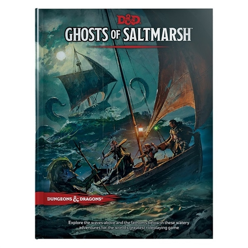 Dungeons & Dragons 5th - Ghosts of Saltmarsh
