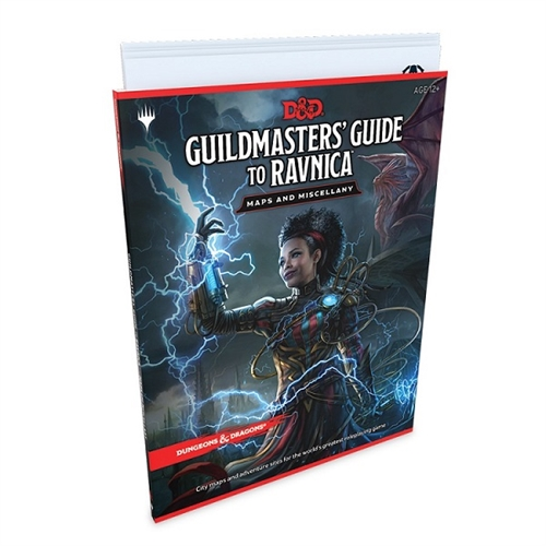 Dungeons & Dragons 5th - Guildmasters Guide to Ravnica RPG Maps and Miscellany
