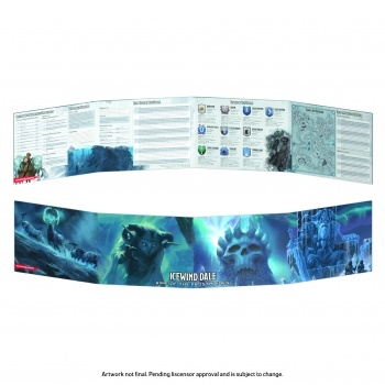 Dungeons & Dragons 5th - Icewind Dale - Rime of the Frostmaiden DM Screen