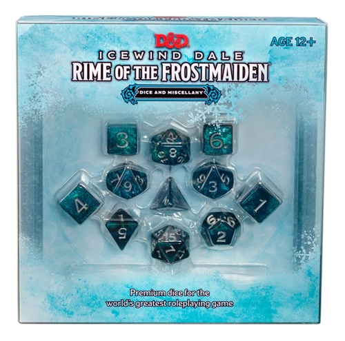 Dungeons & Dragons 5th - Icewind Dale Rime of the Frostmaiden Dice Set