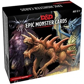 Dungeons & Dragons 5th - Monster Card Deck - Epic Monster (77 kort)