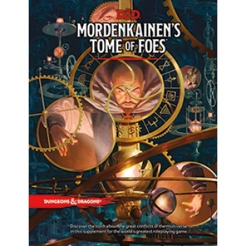 Dungeons & Dragons 5th - Mordenkainen's Tome of Foes