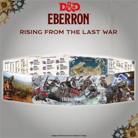 Dungeons & Dragons 5th - Rising from the last war - Eberron DM Screen