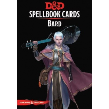 Dungeons & Dragons 5th - Spellbook Cards - Bard (128 Cards)