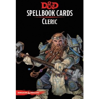 Dungeons & Dragons 5th - Spellbook Cards - Cleric (153 Cards)