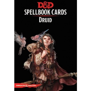 Dungeons & Dragons 5th - Spellbook Cards - Druid (131 Cards)