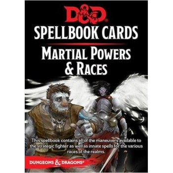 Dungeons & Dragons 5th - Spellbook Cards - Martial Powers & Races (61 Cards)