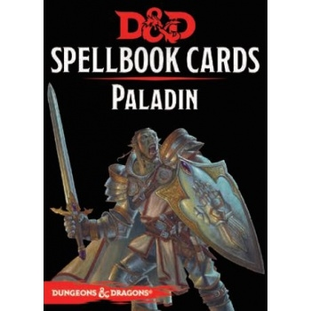 Dungeons & Dragons 5th - Spellbook Cards - Paladin (69 Cards)