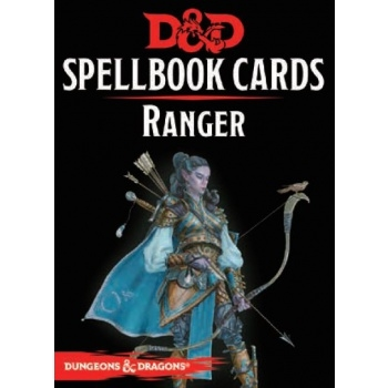 Dungeons & Dragons 5th - Spellbook Cards - Ranger (46 cards)
