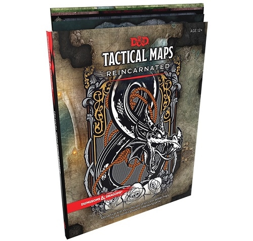 Dungeons & Dragons 5th - Tactical Maps Reincarnated - Rollespils tilbehør