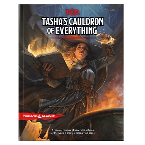 Dungeons & Dragons 5th - Tashas Cauldron of Everything