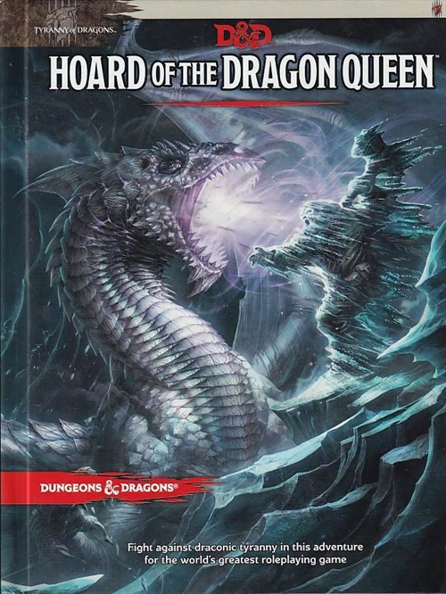 Dungeons & Dragons 5th - Tyranny of Dragons - Hoard of the Dragonqueen (Genbrug)