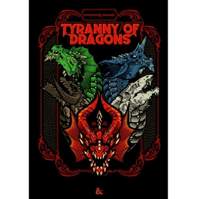 Dungeons & Dragons 5th - Tyranny of Dragons - Limited Edition