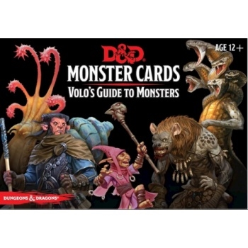 Dungeons & Dragons 5th - Volo`s Guide To Monsters Monster Cards (81 kort)