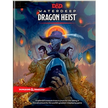 Dungeons & Dragons 5th - Waterdeep Dragon Heist