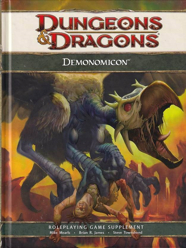 Dungeons & Dragons 4th Demonomicon (B Grade) (Genbrug)