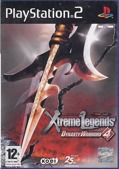 Dynasty Warriors 4 Xtreme Legends - PS2 (Genbrug)