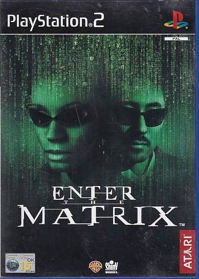 Enter the Matrix - PS2 (Genbrug)