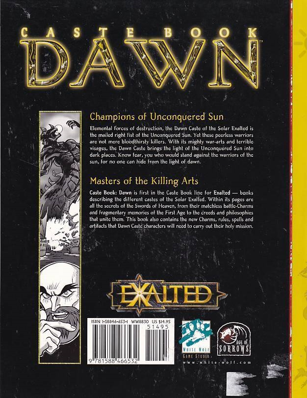 Exalted - Caste Book Dawn (Genbrug)