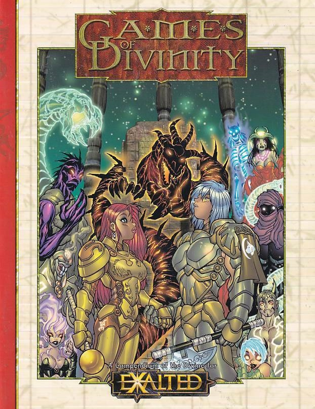 Exalted - Games of Divinity (Genbrug)