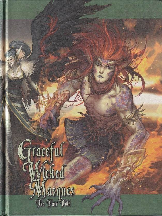 Exalted 2nd - Graceful Wicked Masques (B-Grade) (Genbrug)