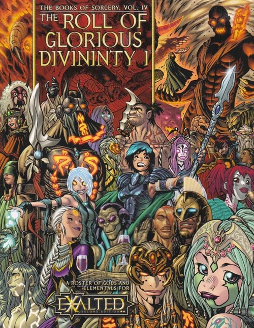 Exalted 2nd - The Books of Sorcery Vol 4 - The Roll of Glorious Divinity 1 (B Grade) (Genbrug)