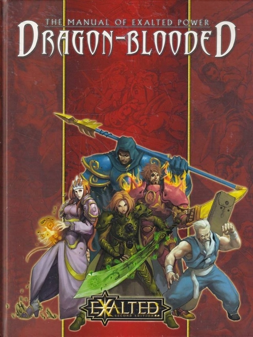 Exalted 2nd - The Manual of Exalted Power - Dragon-Blooded (B-Grade) (Genbrug)