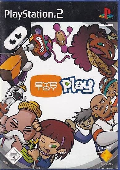 EyeToy Play - PS2 (Genbrug)