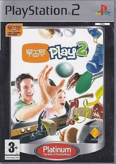 EyeToy Play 2 - PS2 - Platinum (Genbrug)