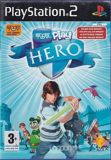 EyeToy Play Hero - PS2 (Genbrug)