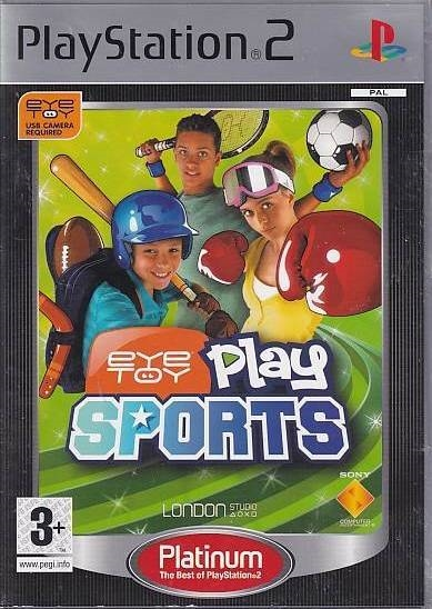 EyeToy: Play Sports - PS2 - Platinum (B Grade) (Genbrug)