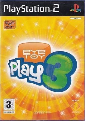 Eyetoy Play 3 - PS2 (Genbrug)