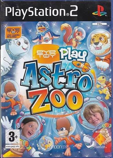 Eyetoy Play Astro Zoo - PS2 (Genbrug)