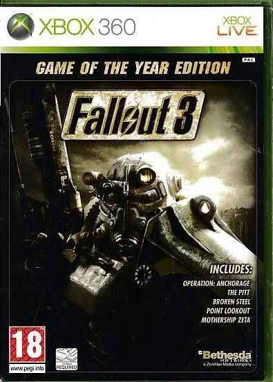 Fallout 3 Game of the Year Edition - XBOX 360 (B Grade) (Genbrug)