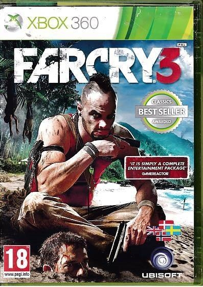 Far Cry 3 - XBOX 360 (B Grade) (Genbrug)
