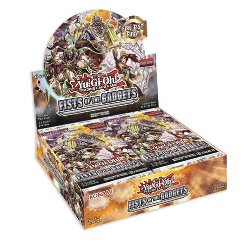 Fists of the Gadgets - Booster box Display (24 Booster Pakker) - Yu-Gi-Oh kort