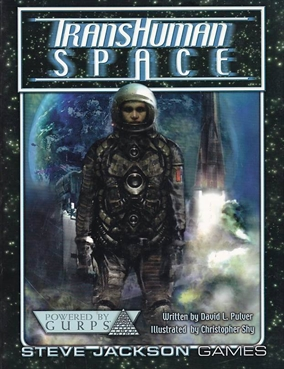 GURPS 3rd -  Transhuman Space - Softcover (B-Grade) (Genbrug)