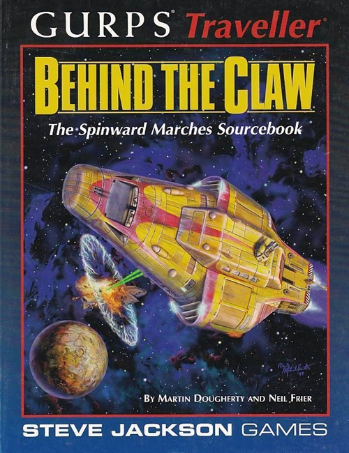 GURPS 3rd -  Traveller - Behind the Claw (B-Grade) (Genbrug)