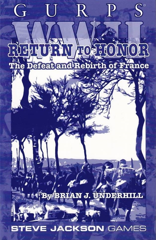 GURPS 3rd - WWII - Return to Honor (B Grade) (Genbrug)