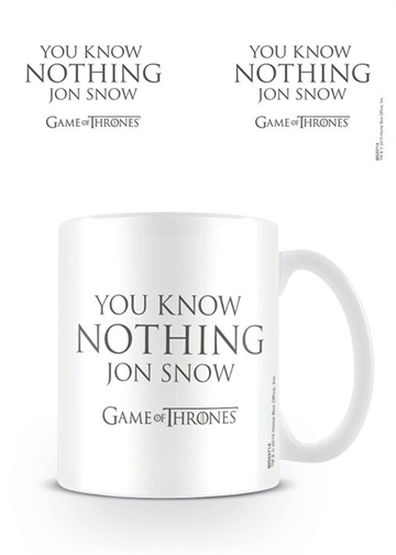 Game of Thrones - You know nothing Jon Snow - Krus