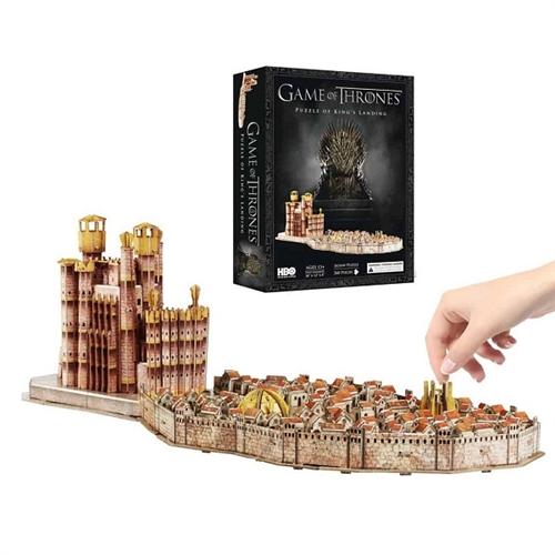 Game of Thrones 4D Puslespil King's Landing