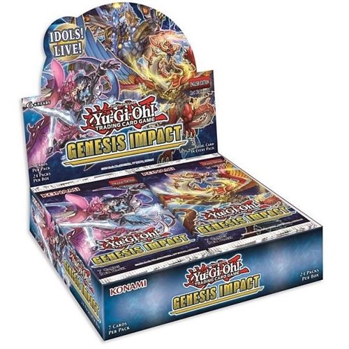Genesis Impact - Booster Box Display (24 Booster Pakker) - Yu-Gi-Oh kort