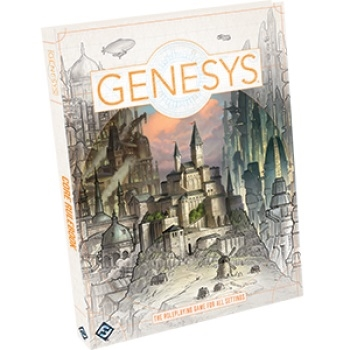 Genesys RPG Core Rulebook - Rollespilsbog
