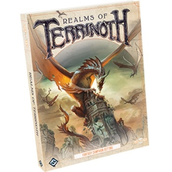 Genesys RPG Realms of Terrinoth - Rollespilsbog