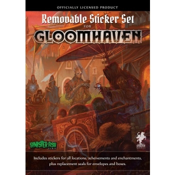Gloomhaven 2nd Edition - Removable Sticker set