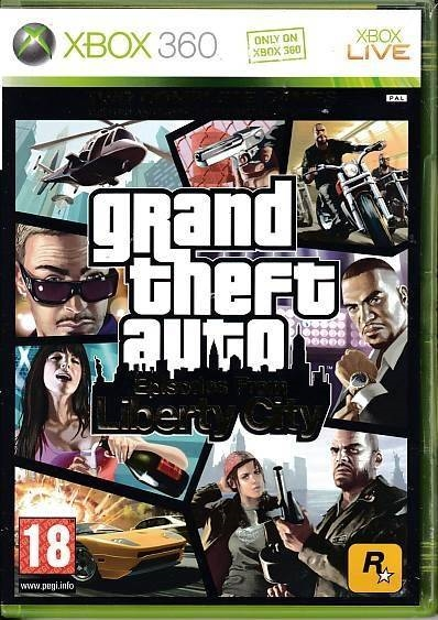Grand Theft Auto Episodes From Liberty City - XBOX 360 (B Grade) (Genbrug)