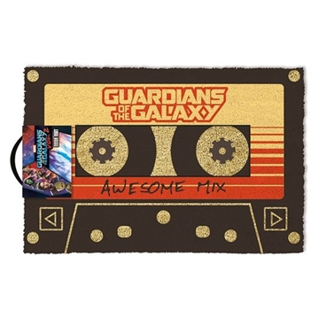 Guardians of the Galaxy - Awesome Mix - Dørmåtte 40X60cm