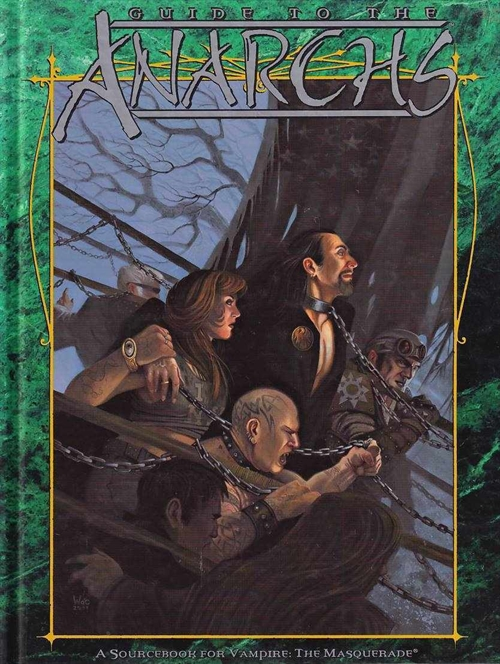 Vampire the Masquerade - Guide to the Anarchs (B-Grade) (Genbrug)